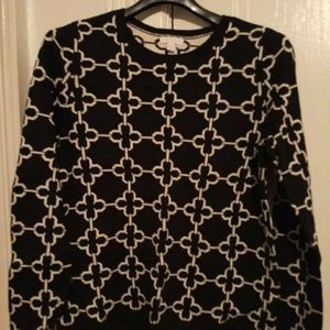 Black and White Charter Club sweater